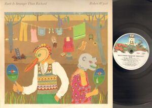 ROBERT WYATT Ruth is Stranger than Richard LP 1975 UK Related Soft Machine