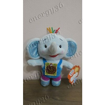 "Soft talking toy Elephant Toma 20 cm from cartoon ""Tima and Toma"" Тима и Тома"