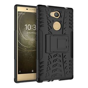 hot sale online 58b76 d0759 Details about Sony Xperia L2 Dual Layer Tough Shockproof Armour Case Cover  Guard Skin