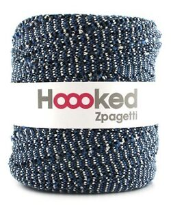 C3 Strickblau Hoooked Zpagetti Häkeln Stricken Weben Basteln Hooked