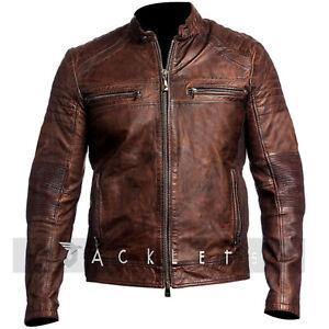 Mens-Cafe-Racer-Vintage-Distressed-Biker-Leather-Jacket