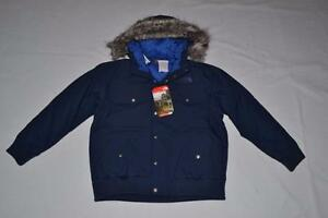 3716f567e8b6 THE NORTH FACE BOYS GOTHAM JACKET COSMIC BLUE XS XSMALL BRAND NEW ...