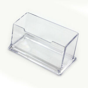 1 Stück Acryl Transparente Tisch Visitenkartenhalter