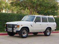 1987 Toyota Land Cruiser Base Sport Utility 4-Door