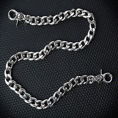 Biker Metal Skull Jean Chain C1176 US Guntwo Korean Mens Fashion Wallet Chains