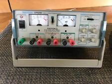Tektronix Cps250 Triple Output Dc Power Supply Analog Read Description