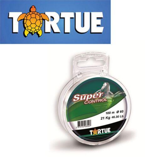 Nylon Tortue Super Control 0.45mm 12.500kg 100m crystal