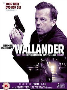 WALLANDER-COLLECTED-FILMS-8-13-DVD-Box-Set-Krister-Henriksson-UK-Release-New-R2