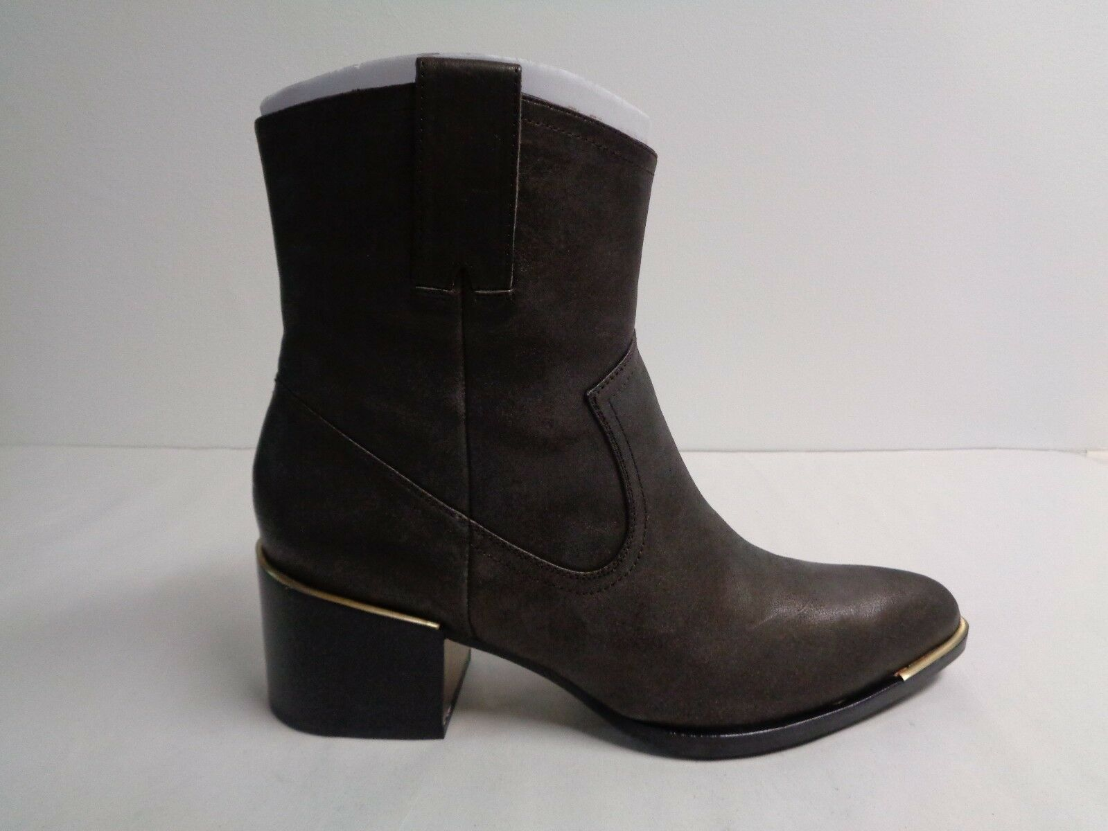 Rachel Zoe Size 8.5 M LORI PEARLIZED PEARLIZED PEARLIZED Bronze Leather Ankle Boots New Womens shoes 08bc1f
