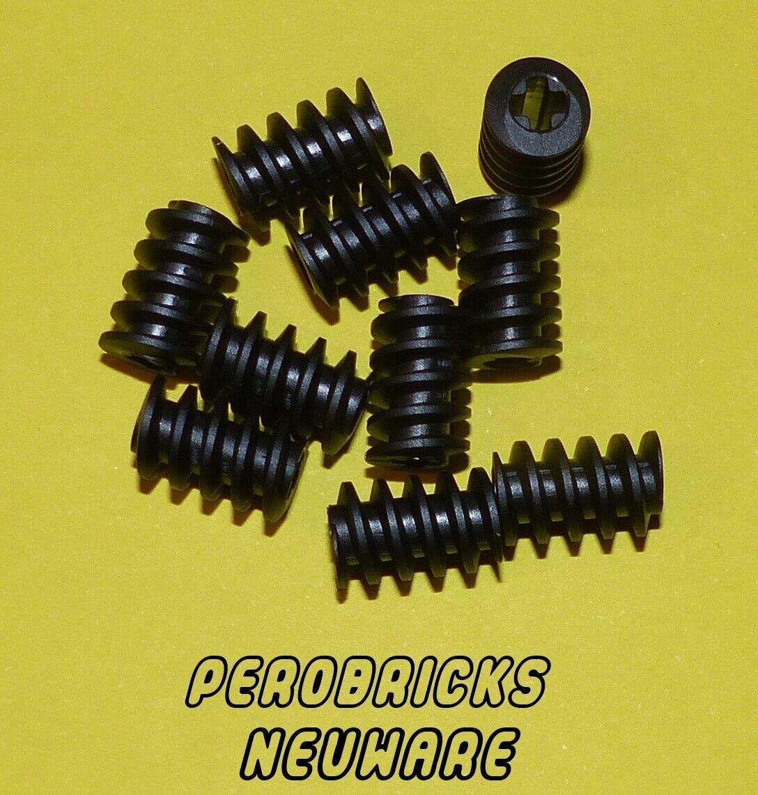 Gewindeschnecke 4X Lego® 27938 Technik Technic Getriebe Zahnrad NEU