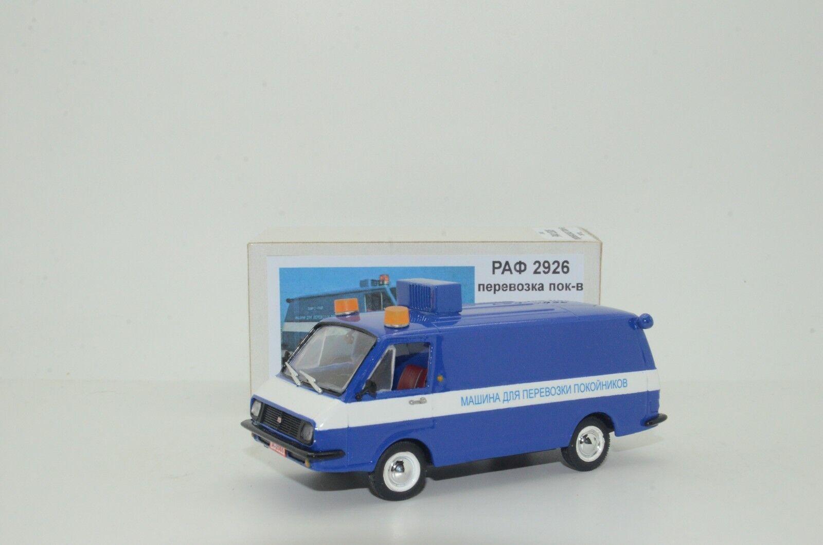 rara RAF 2926 forense coche hecho a mano 1/43