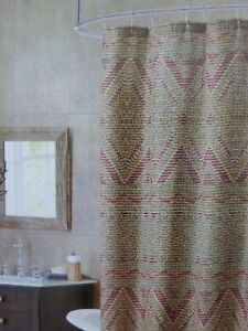 Image Is Loading Bombay Mosaic Fabric Shower Curtain 70 034 X