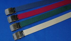 Big Canvas Webbing Web Belt xl xxl 4xl 5xl 6xl 7xl Red Blue Green ... d57faf41ae24