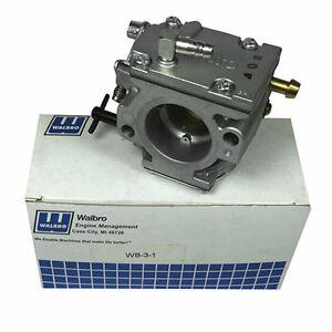 Details about GENUINE Walbro WB-3 Carburetor GoKart Engines Yamaha  KT100SD/SEC Not Modified