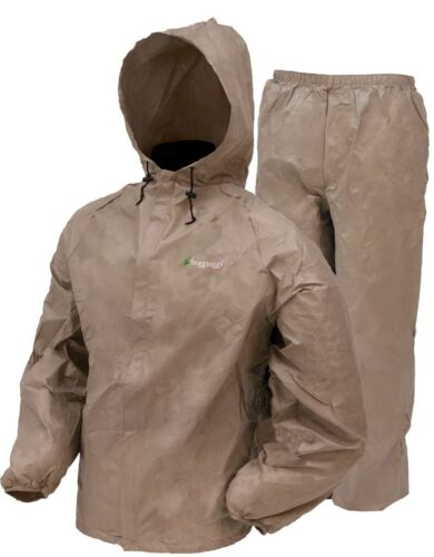 Frogg Toggs UL12104 Waterproof Rain Suit NEW Rain /& Wind Suit