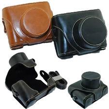 New Top Leather Camera Hard Case Bag Cover For Fujifilm Fuji X10 X20 Finepix