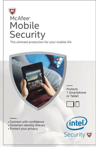 Antivirus Protection for Android Smartphone McAfee Mobile Security 2019