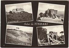 SALUTI DA TINDARI - VEDUTINE - PATTI (MESSINA) 1960