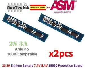 2pcs-2S-3A-18650-Li-ion-Lithium-Battery-7-4v-8-4V-Charger-Protection-Board