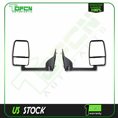 Passenger Side Manual Door Mirror 03-11 Chevrolet Express /& Savana Van