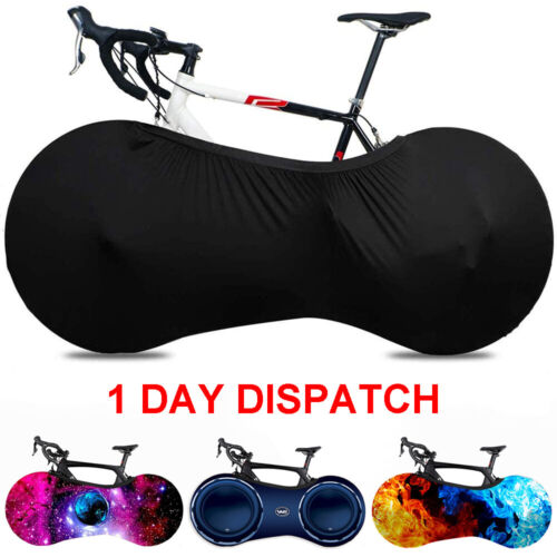 Bike Indoor Anti-dust Cover Bike Wheel Chain Elastic Protect Covers Storage Bags