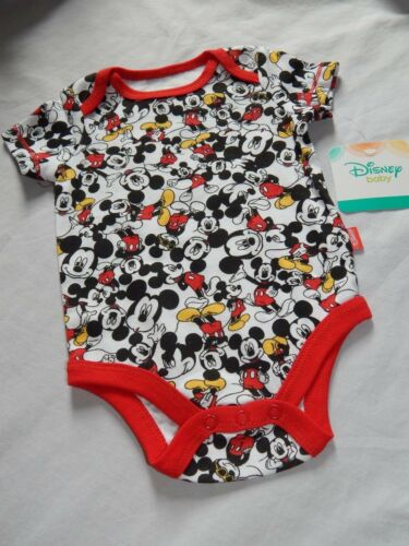 24M NEW Mickey Mouse Club Disney Baby Creeper Shirt Bodysuit movie Outfit 0//3M