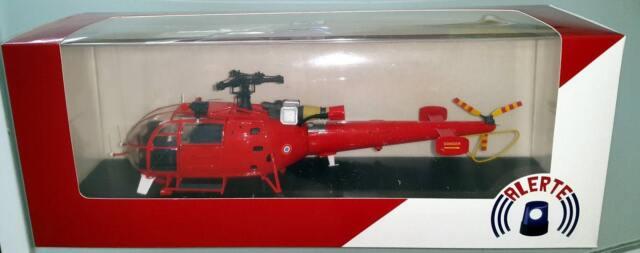 Hélicoptère ALOUETTE 3 SA316 BSPP Brigade Des Sapeurs-Pompiers de Paris 1/43