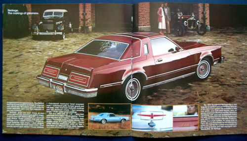 USA PROSPEKT BROCHURE 1979 FORD THUNDERBIRD Heritage Edition