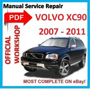 official workshop manual service repair for volvo xc90 2002 2014 rh ebay com volvo xc90 owners manual 2004 volvo xc90 service manual pdf
