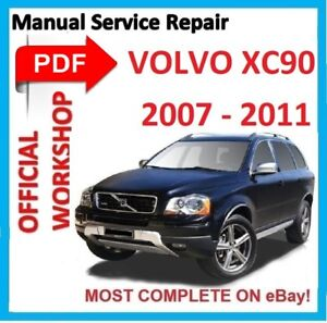 official workshop manual service repair for volvo xc90 2002 2014 rh ebay es 2016 Volvo XC90 2016 Volvo XC90