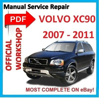 Official Workshop Manual Service Repair For Volvo Xc90 2002 2014 Wiring Ebay