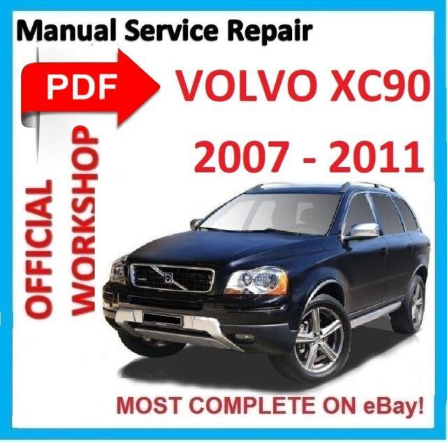 official workshop manual service repair for volvo xc90 2002 2014 rh ebay co uk 2016 Volvo XC90 2017 Volvo XC90