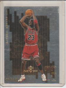 1999-00 Upper Deck MVP Dynamics Michael Jordan #D1 Chicago Bulls