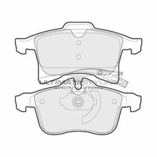 OPEL COMBO Van 2001-2012 1.3 1.4 1.6 1.7 Pastillas de freno delantero W155-H71-T20.3