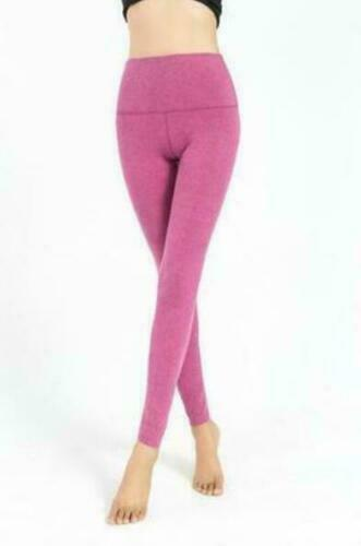 Womens Winter Cashmere blend Leggings Snug Tall Waist Pants Thicken Warm Slim pa