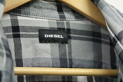 Generoso Camicia Da Uomo Diesel Moda Assegno Plaid Xl Extra Large-mostra Il Titolo Originale Alta Resilienza