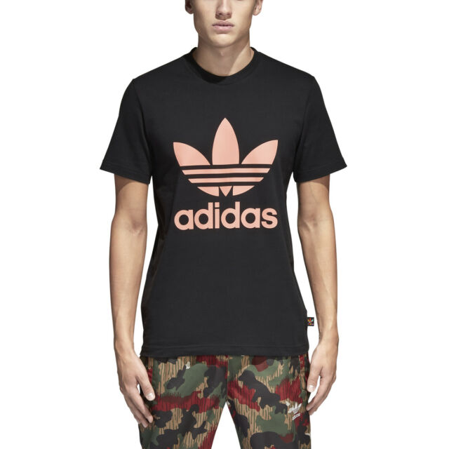 36d0e89d9abb1 adidas X Pharrell Williams HU Human Race Hiking Camo Trefoil T-shirt Size  Medium