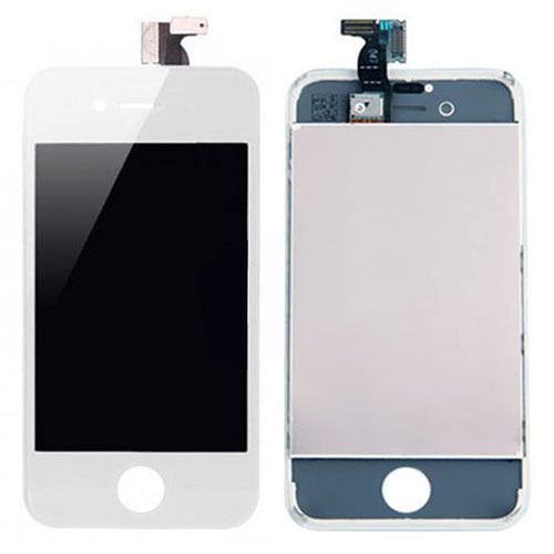 LCD Screen + Touch Glass Digitizer Assembly for CDMA Verizon iPhone 4 4G (White)