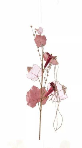 NEW 11-611063 Pink 2 Katherine/'s Collection Happily Ever Trumpet Floral Stems
