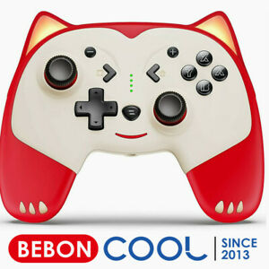 Cute Wireless Pro Switch Controllers with Wake-up/Turbo for Nintendo Switch/Lite