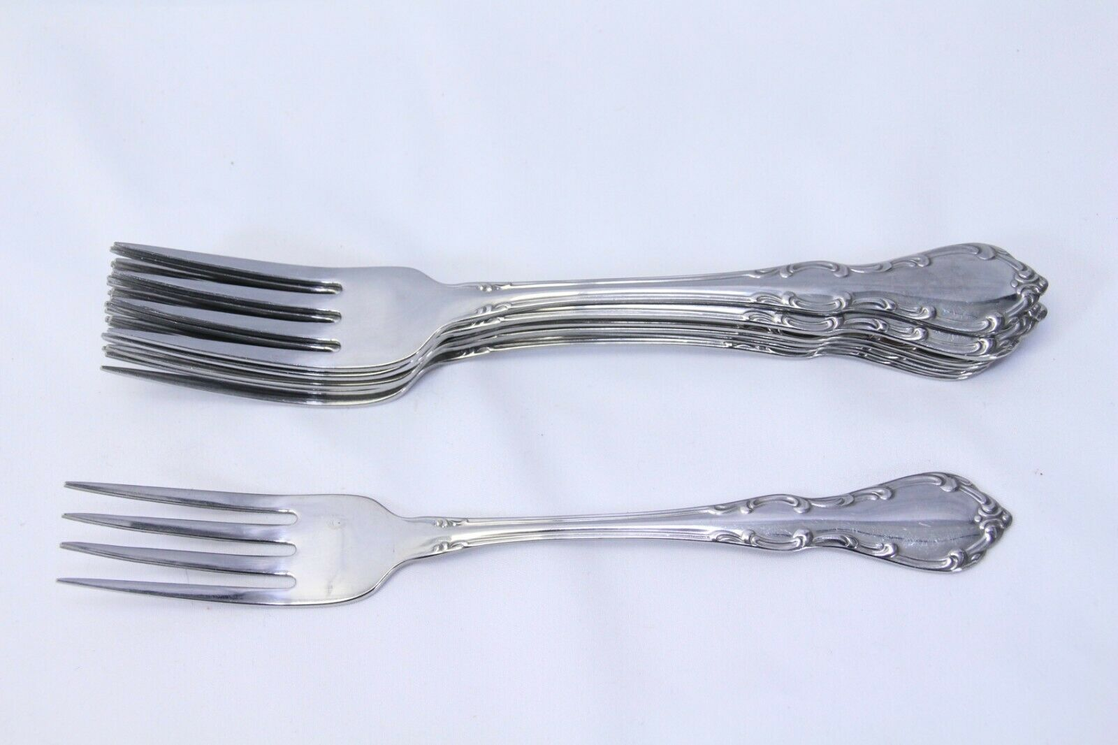 Oneidaware Whittier Inoxydable dinner forks 7.25  Lot de 8