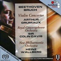 Arthur Grumiaux - Violin Concertos [new Sacd] Hybrid Sacd on Sale