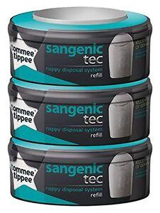 Sangenic-TEC-Tommee-Tippee-Recharge-pour-poubelle-a-couches-Lot-de-3