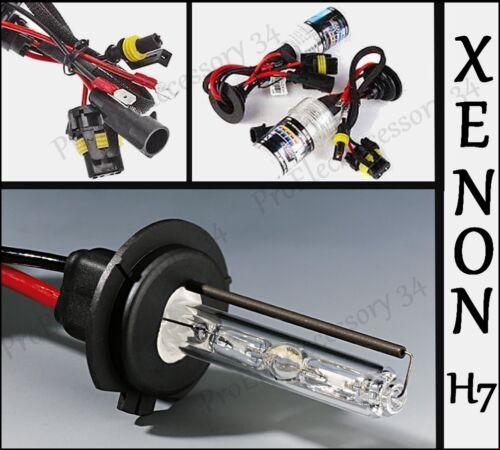 2 AMPOULE LAMPE FEU H1 H7 POUR KIT XENON HID DE RECHANGE 6000K 8000K 12V 35W 55W