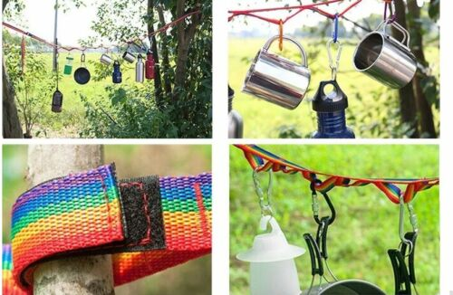 Camping Accessories Tools Family Universal  Home Hanging Lanyard Rope Strap Fun