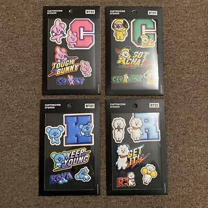 BTS Line Friends BT21 Official Customizing Sticker RJ COOKY CHIMMY KOYA SET NEW