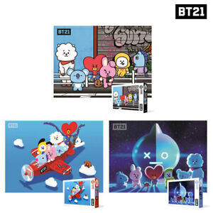 BTS-BT21-Official-Authentic-Goods-300-pcs-Jigsaw-Puzzle-3Type-Tracking-Number