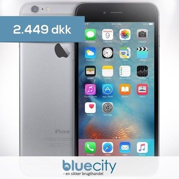 iPhone 6S Plus, GB 16, sort