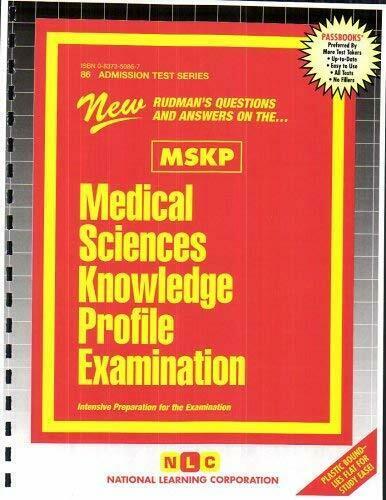 Medical Sciences Knowledge Profile Examination (MSKP)