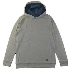 Medium Quiksilver Big Boys Navy Fleece Sweatshirt Size 12